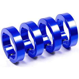 Sixpack Ersatzklemmringe Aluminium blau